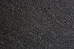 Texture of  black slate. Сlose-up Stock Image