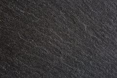 Texture of  black slate. Stock Image