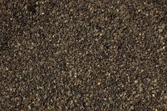 Texture black stone. Way floor Royalty Free Stock Photo