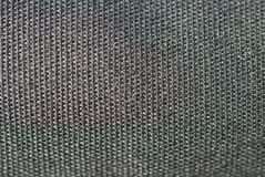 Texture black textile in macro Royalty Free Stock Photo