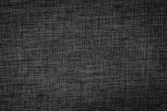 Texture of black, tight braid fabric Royalty Free Stock Photography