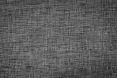 Texture of black, tight braid fabric Stock Photo