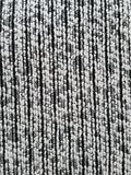 Texture of black and white cloth Stock Photo