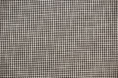 Texture of Black and White Fabric Background. For Wallpaper Stock Image