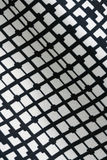 Texture of Black and White Fashion Prints Patterns with Geometric design textile Stock Photography