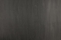 Texture of a black wooden board Stock Image