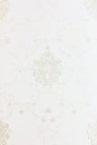 Texture blanche de backgound de papier peint floral Photographie stock