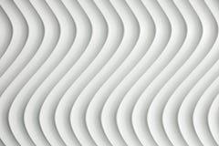 Texture blanche de courbe avec l'ombre et l'ombre Images libres de droits