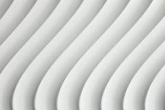 Texture blanche de courbe avec l'ombre et l'ombre Photos libres de droits