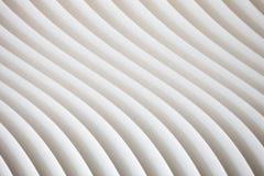Texture blanche de courbe avec l'ombre et l'ombre Photo libre de droits