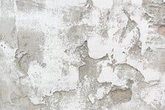 Texture blanche de fond de brique et de ciment Photo libre de droits