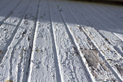 Texture blanche de grange Photo stock