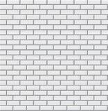 Texture blanche de mur de briques illustration stock