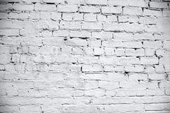 Texture blanche de mur de briques Image libre de droits