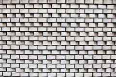 Texture blanche de mur de briques Photos libres de droits