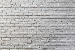 Texture blanche de mur de briques Image stock