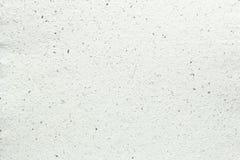 Texture blanche de papier fait main Photographie stock libre de droits