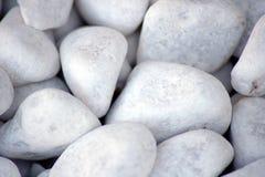 Texture blanche de pierres Photographie stock libre de droits