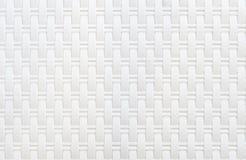 Texture blanche de rotin photos libres de droits
