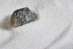 Texture blanche de sable Photographie stock libre de droits