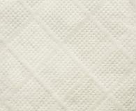 Texture blanche de serviette de papier de soie de soie Photos libres de droits