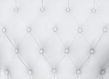 Texture blanche de sofa Images stock