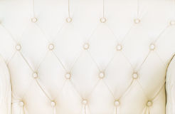 Texture blanche de sofa Image stock