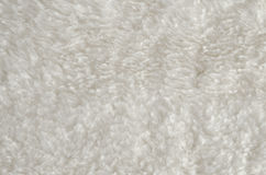 Texture blanche de tapis Images libres de droits
