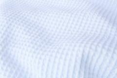 Texture blanche de tissu Photo stock