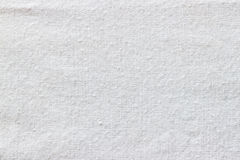 Texture blanche de tissu Photo libre de droits