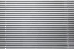 Texture blanche moderne de fond d'abat-jour de fenêtre Photographie stock