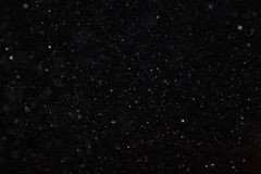 Texture blanche noire abstraite de neige Photo libre de droits