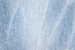 Texture bleu-clair de jeans Images libres de droits