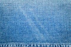 Texture bleu-clair de jeans Image stock