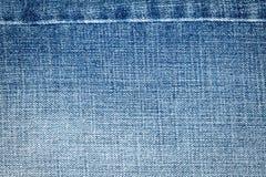 Texture bleu-clair de jeans Photos libres de droits