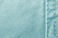 Texture bleu-clair de jeans Jeans texture, fond de denim de jeans de denim avec une couture Conception de mode de jeans Image libre de droits