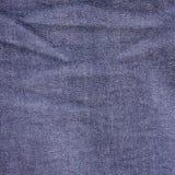 Texture bleu-foncé de jeans Images libres de droits