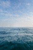 Texture bleue abstraite Images stock