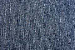 texture bleue de denim Photographie stock libre de droits