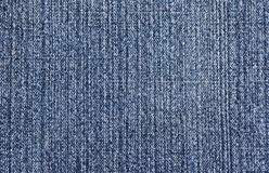 Texture bleue de denim Image stock