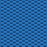 Texture bleue de fond d'hexagone Illustration de vecteur Image stock