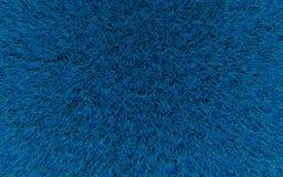 Texture bleue de laines Photographie stock