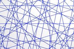 Texture bleue de lignes transversales Images libres de droits