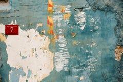 Texture bleue de mur Photo libre de droits
