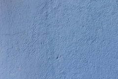 Texture bleue de mur Photo libre de droits