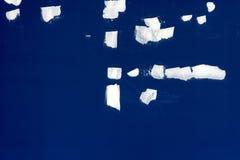 Texture bleue de mur en béton image libre de droits