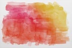Texture bleue de papier d'aquarelle Images libres de droits