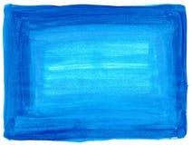Texture bleue de peinture Photographie stock