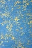 Texture bleue de peinture de conception Photographie stock