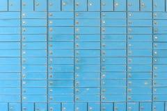 Texture bleue de porte Photo libre de droits
